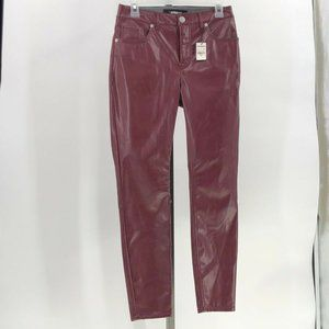 Express faux leather high rise ankle legging 2 NWT